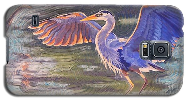 Heron Majesty Galaxy S5 Case by Janet McDonald