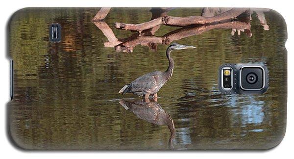 Heron Reflection Galaxy S5 Case