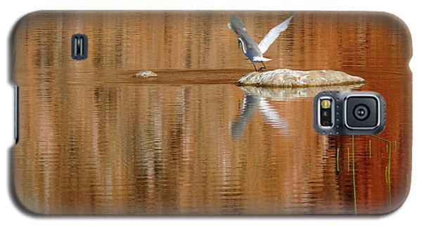 Heron Tapestry Galaxy S5 Case