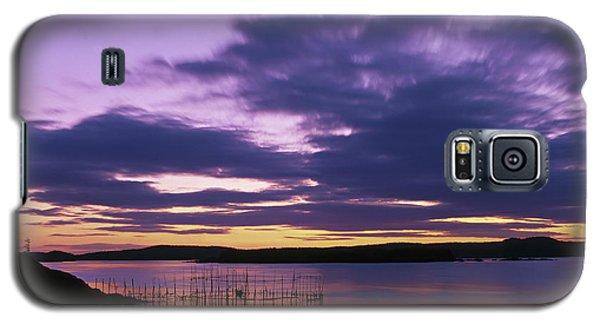 Herring Weir, Sunset Galaxy S5 Case