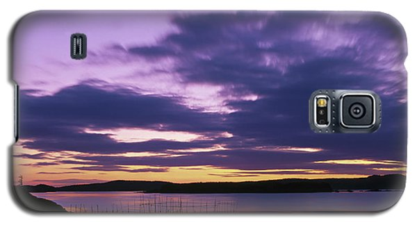Herring Weir, Sunset Galaxy S5 Case
