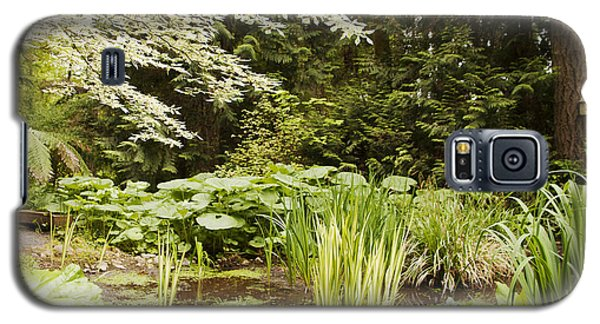 Herronswood Wetlands Galaxy S5 Case by Victoria Harrington