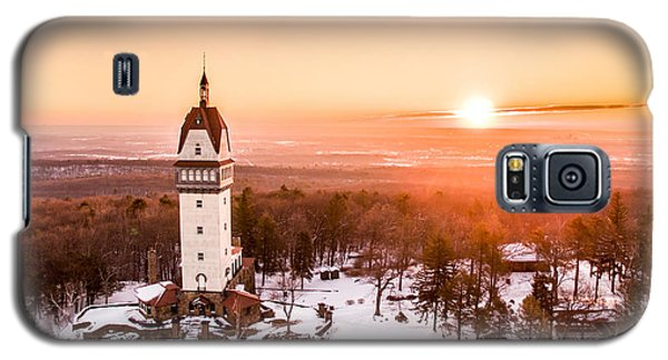 Heublein Tower In Simsbury Connecticut Galaxy S5 Case by Petr Hejl