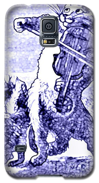 Hey Diddle Diddle The Cat And The Fiddle Nursery Rhyme Galaxy S5 Case by Marian Cates
