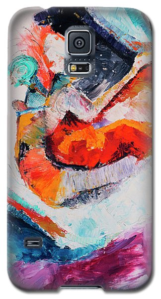 Galaxy S5 Case featuring the painting Hey Mr. Spaceman by Stephen Anderson