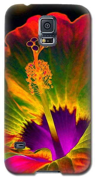 Hibiscus 01 - Summer's End - Photopower 3189 Galaxy S5 Case