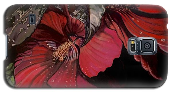 Hibiscus After The Rain Galaxy S5 Case