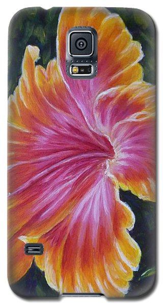 Hibiscus Galaxy S5 Case