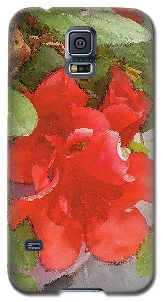 Hibiscus B Galaxy S5 Case
