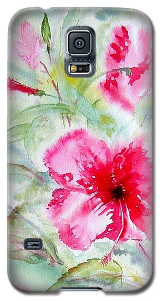Hibiscus Fantasy Galaxy S5 Case