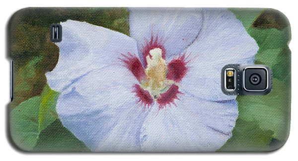 Galaxy S5 Case featuring the painting Hibiscus by Joshua Martin
