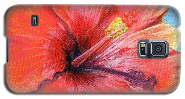 Hibiscus Passion Galaxy S5 Case
