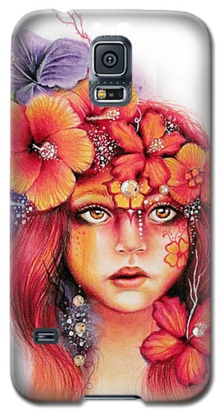 Hibiscus Galaxy S5 Case by Sheena Pike