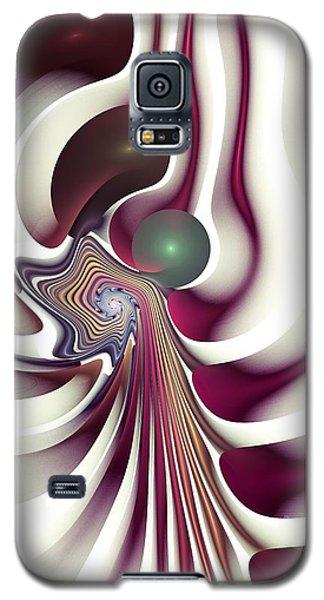 Galaxy S5 Case featuring the digital art Hidden Agenda by Anastasiya Malakhova