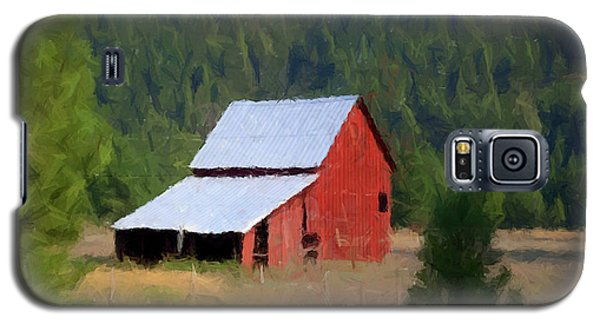 Galaxy S5 Case featuring the painting Hidden Away P D P by David Dehner