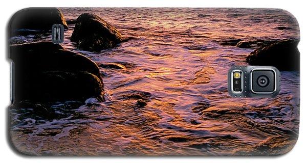 Hidden Cove Sunset Redwood National Park Galaxy S5 Case