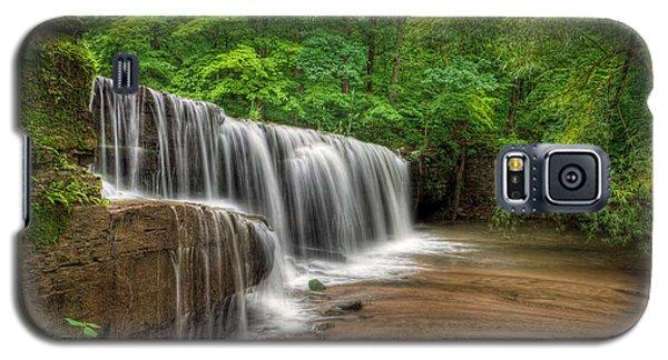Galaxy S5 Case featuring the photograph Hidden Falls  by Rikk Flohr