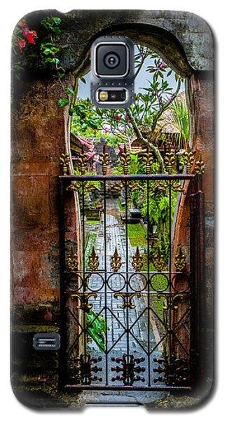 Bali Gate Galaxy S5 Case by M G Whittingham