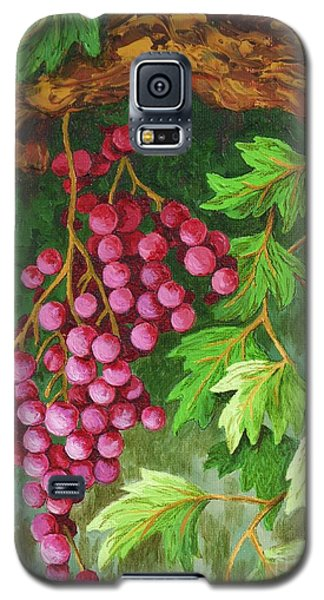 Galaxy S5 Case featuring the painting Hidden Treasure by Katherine Young-Beck