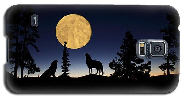 Hidden Wolves Galaxy S5 Case by Shane Bechler