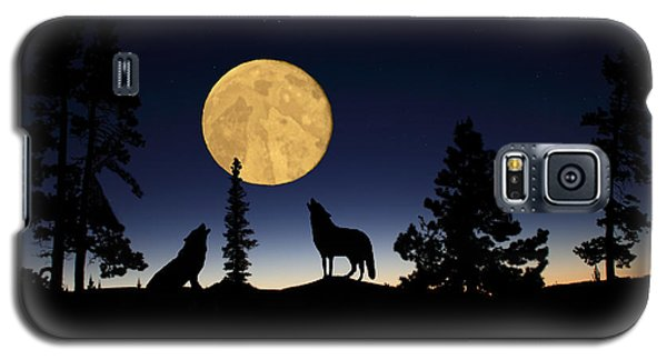 Hidden Wolves Galaxy S5 Case