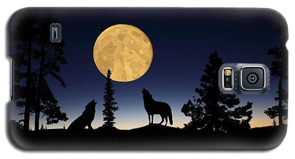 Hidden Wolves Galaxy S5 Case