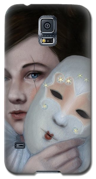 Hiding Behind Masks Galaxy S5 Case