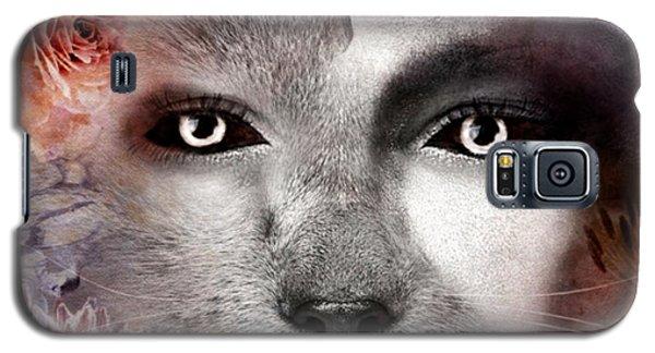 Hiding Catlady Galaxy S5 Case