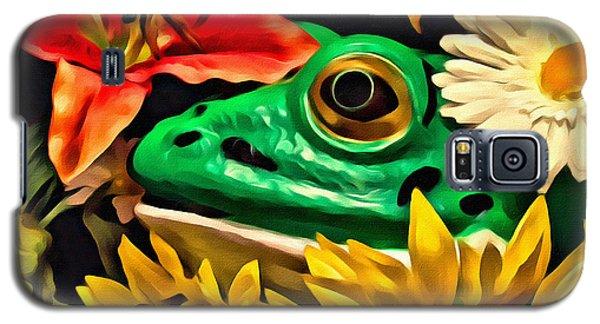 Hiding Frog Galaxy S5 Case by Jeff  Gettis