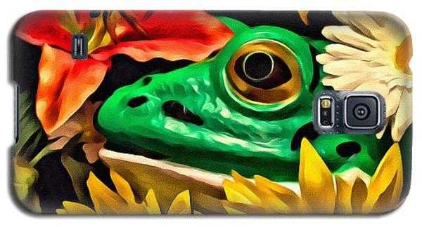 Hiding Frog Galaxy S5 Case