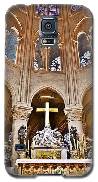 High Alter Notre Dame Cathedral Paris France Galaxy S5 Case