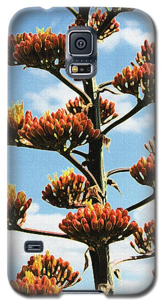 High Country Red Bud Agave Galaxy S5 Case