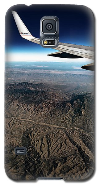 High Desert From High Above Galaxy S5 Case