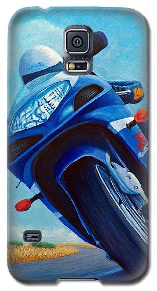 High Desert Pass - Suzuki Gsxr1000 Galaxy S5 Case by Brian  Commerford