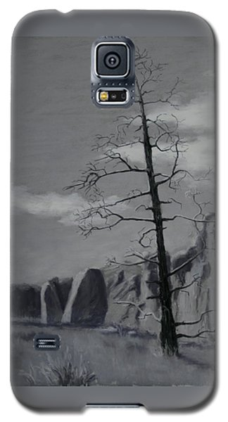 Galaxy S5 Case featuring the painting High Desert Skeleton by Nancy Jolley