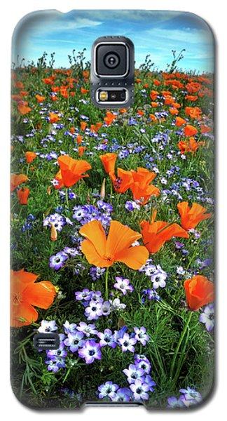 High Desert Wildflowers Galaxy S5 Case