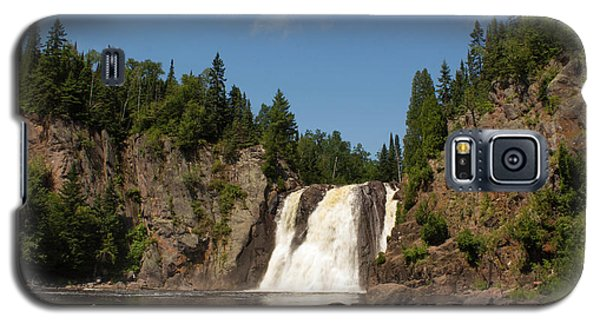 High Falls At Tettegouche State Park Galaxy S5 Case