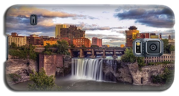 Galaxy S5 Case featuring the photograph High Falls Crop by Mark Papke