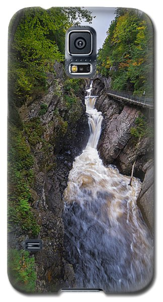 Galaxy S5 Case featuring the photograph High Falls Gorge Adirondacks by Mark Papke