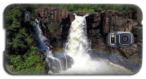 High Falls On Pigeon River Galaxy S5 Case