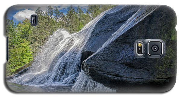 Galaxy S5 Case featuring the photograph High Falls One by Steven Richardson