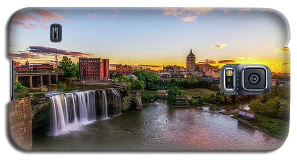High Falls Rochester Ny Galaxy S5 Case by Mark Papke