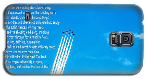 High Flight Galaxy S5 Case