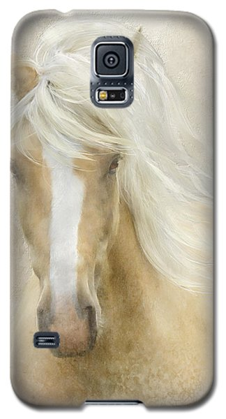 Galaxy S5 Case featuring the painting Spun Sugar by Colleen Taylor
