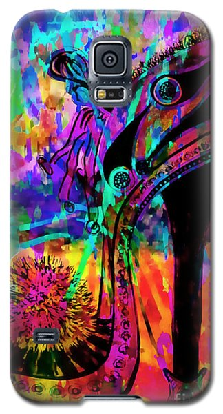High Heel Heaven Abstract Galaxy S5 Case by Jolanta Anna Karolska