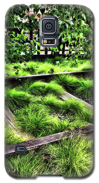 High Line Nyc Railroad Tracks Galaxy S5 Case