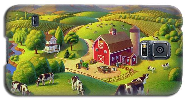 High Meadow Farm  Galaxy S5 Case by Robin Moline