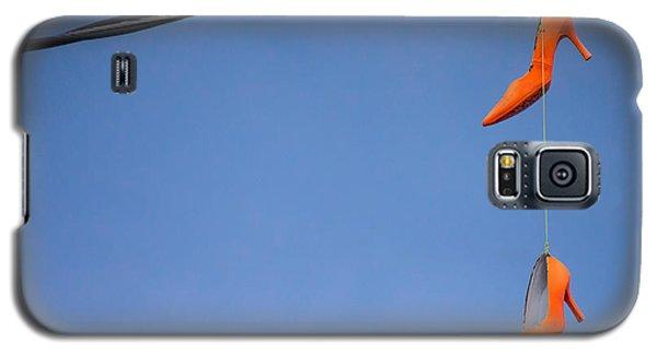 High On Orange Galaxy S5 Case