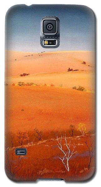 High Plains Hills Galaxy S5 Case by William Renzulli