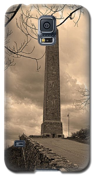 High Point Obelisk In Sepia  Galaxy S5 Case